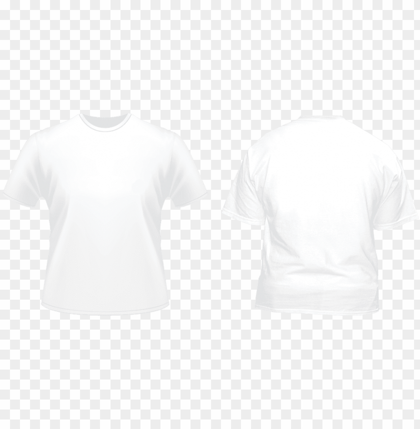 free PNG white tshirt front and back png image black and white - back of white t shirt PNG image with transparent background PNG images transparent