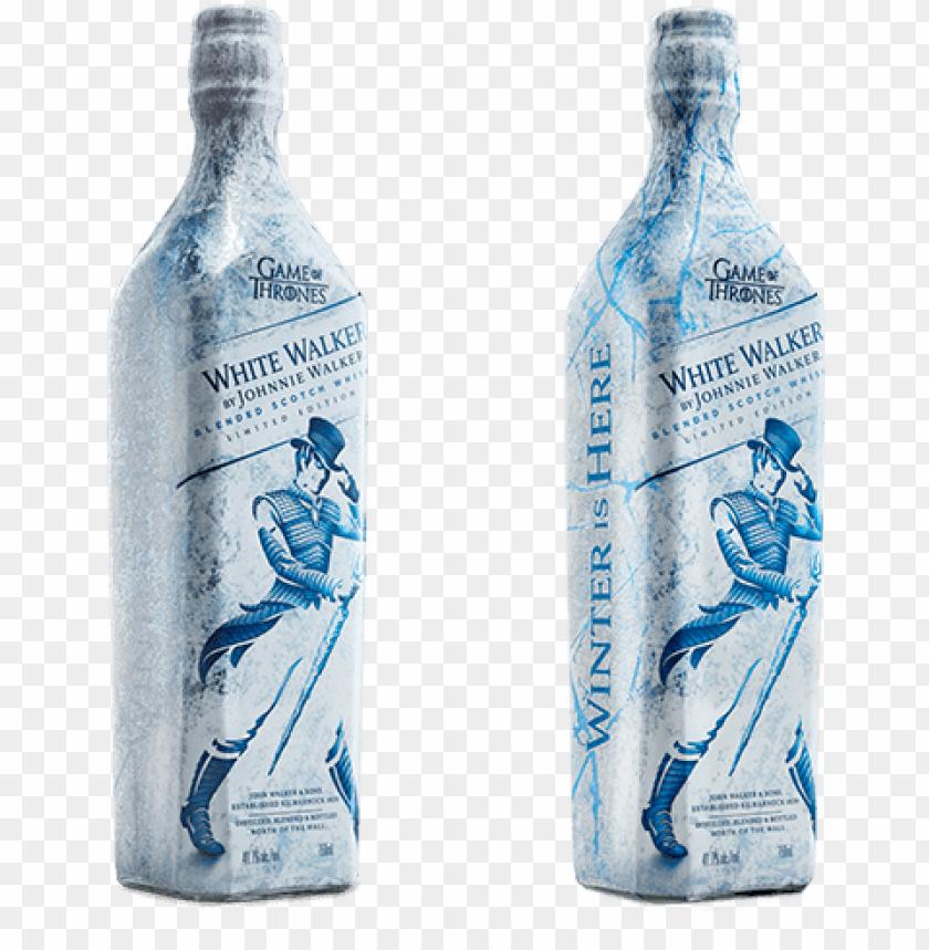 free PNG white walker - johnnie walker white walker whiskey PNG image with transparent background PNG images transparent