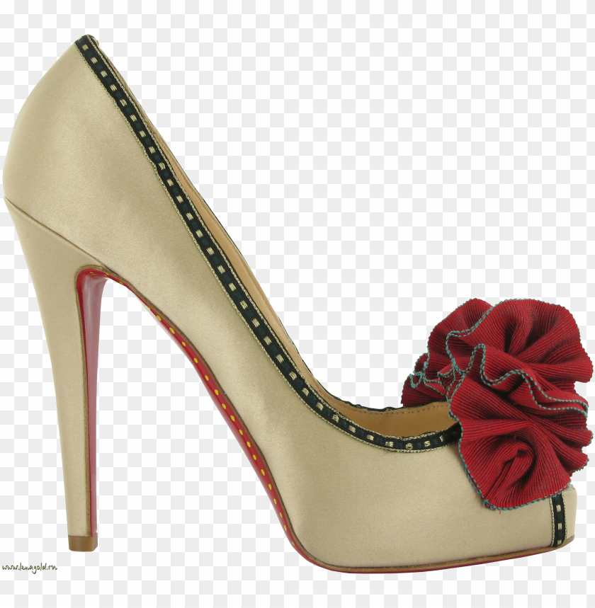 free PNG white women shoe png - Free PNG Images PNG images transparent