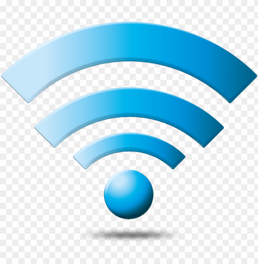 free PNG Download wifi icon blue clipart png photo   PNG images transparent