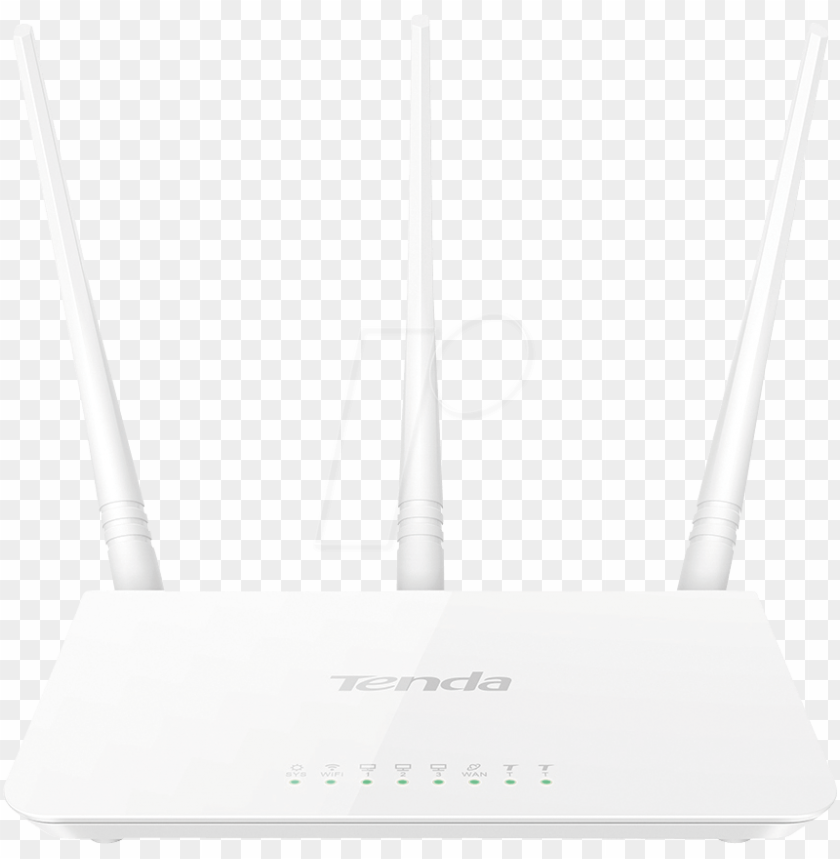 free PNG wifi router - tenda 30mbps mod f3 PNG image with transparent background PNG images transparent