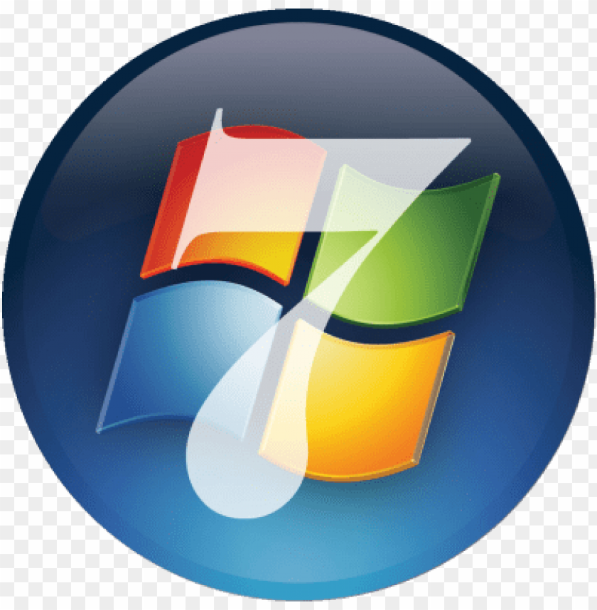 free PNG windows vista logo png windows 7 ultimate logo png - windows 7 start button für classic shell PNG image with transparent background PNG images transparent