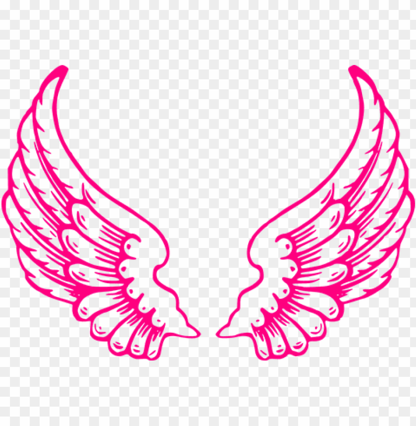 free PNG wings, angel, feathers, wings of angels - pink angel wings clip art PNG image with transparent background PNG images transparent