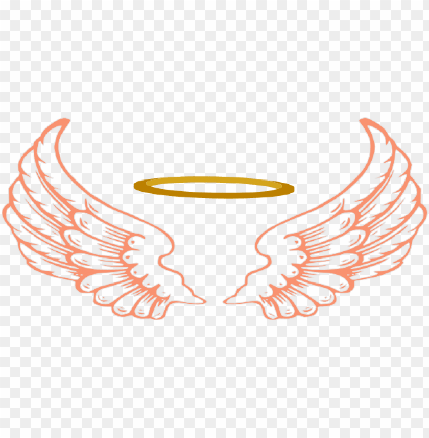 free PNG wings png images transparent free download - angel wings and halo PNG image with transparent background PNG images transparent