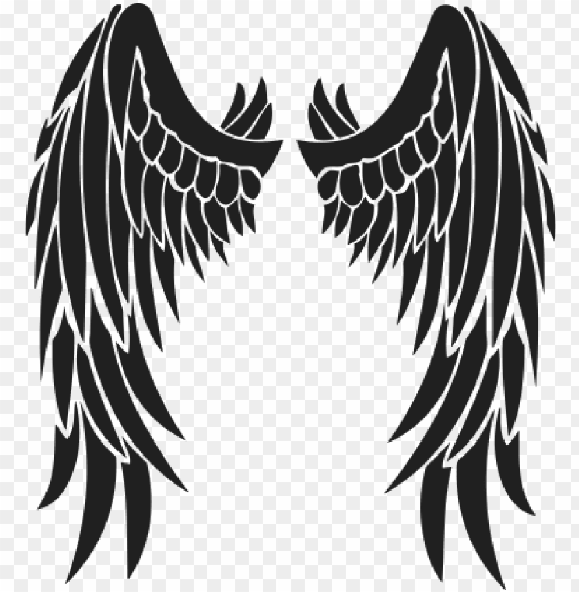 free PNG wings-tattoos - transparent angel wing tattoo PNG image with transparent background PNG images transparent