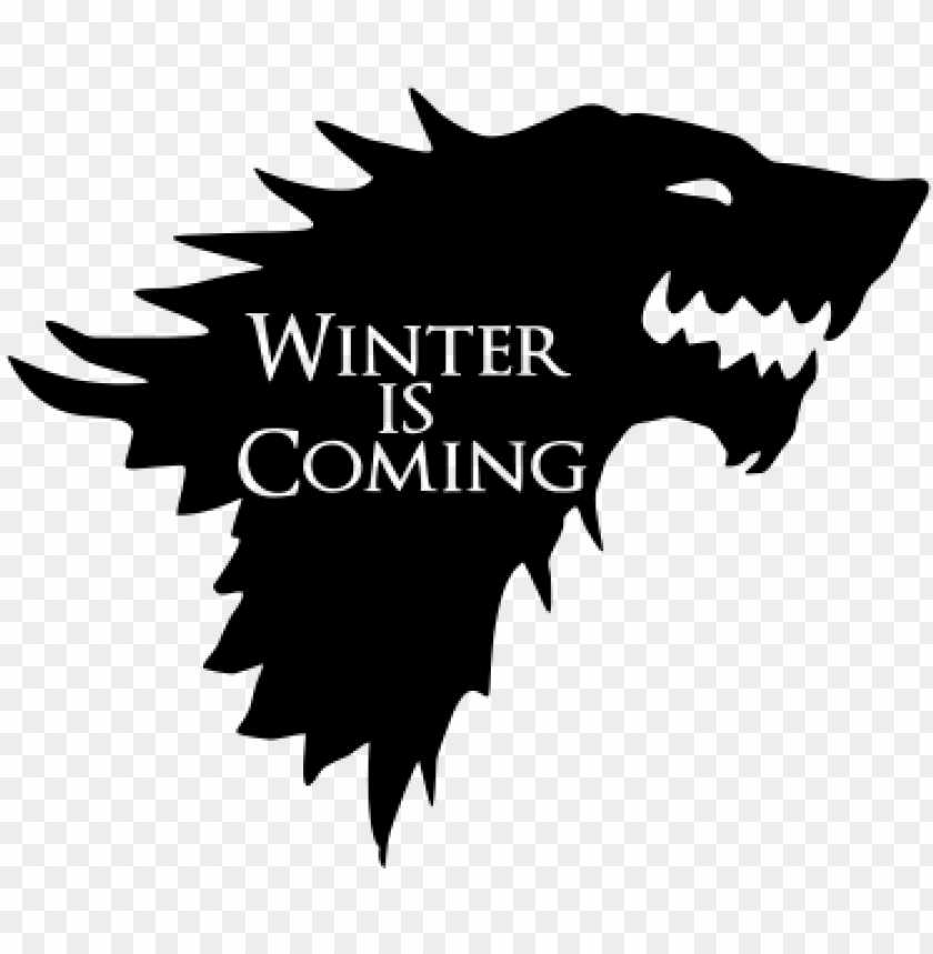 free PNG winter is coming - christmas game of thrones PNG image with transparent background PNG images transparent