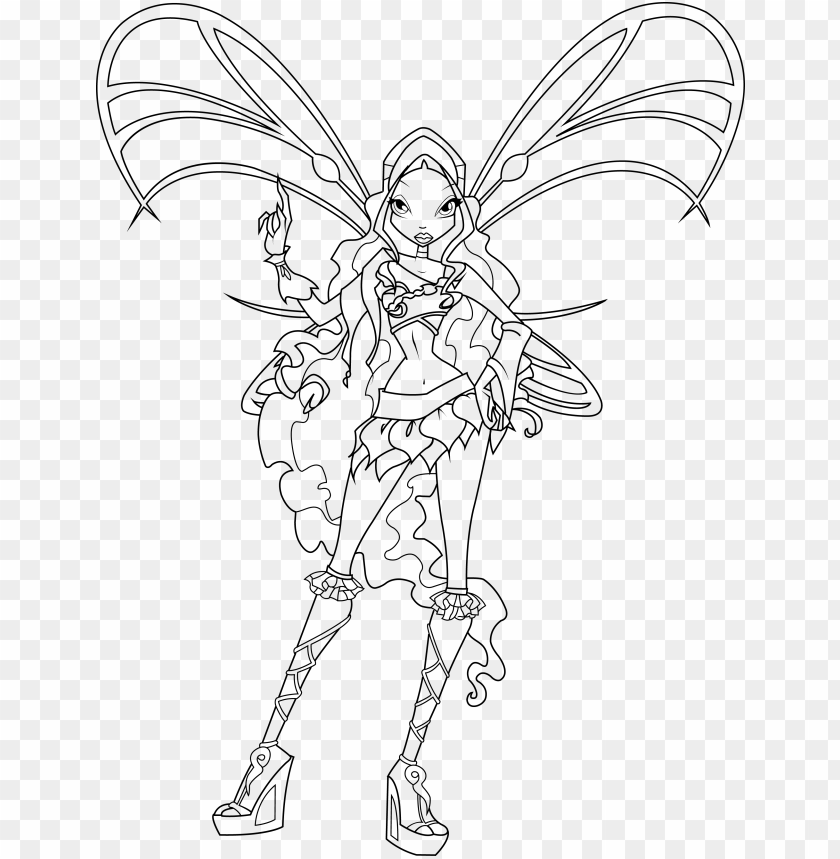 free PNG winx club sophix coloring pages - winx club aisha sophix coloring pages PNG image with transparent background PNG images transparent