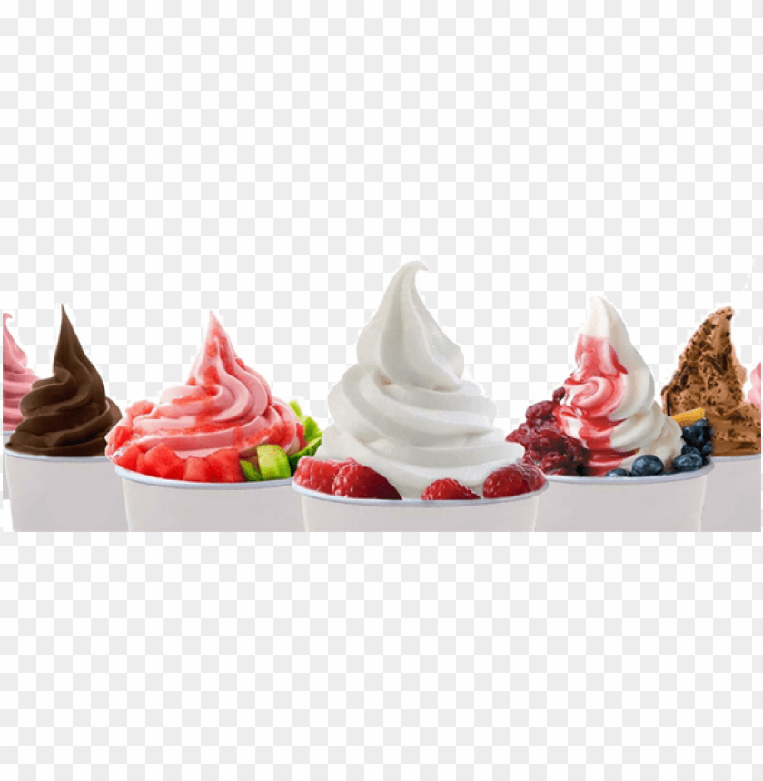 free PNG with the era of frozen yogurt we have developed a product - frozen yogurt PNG image with transparent background PNG images transparent