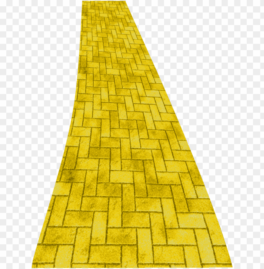 free PNG wizard of oz clipart yellow brick road - yellow brick road cartoo PNG image with transparent background PNG images transparent