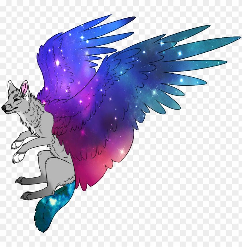 wolf clipart tumblr transparent galaxy dog drawi 11563247891aoe3pmd782