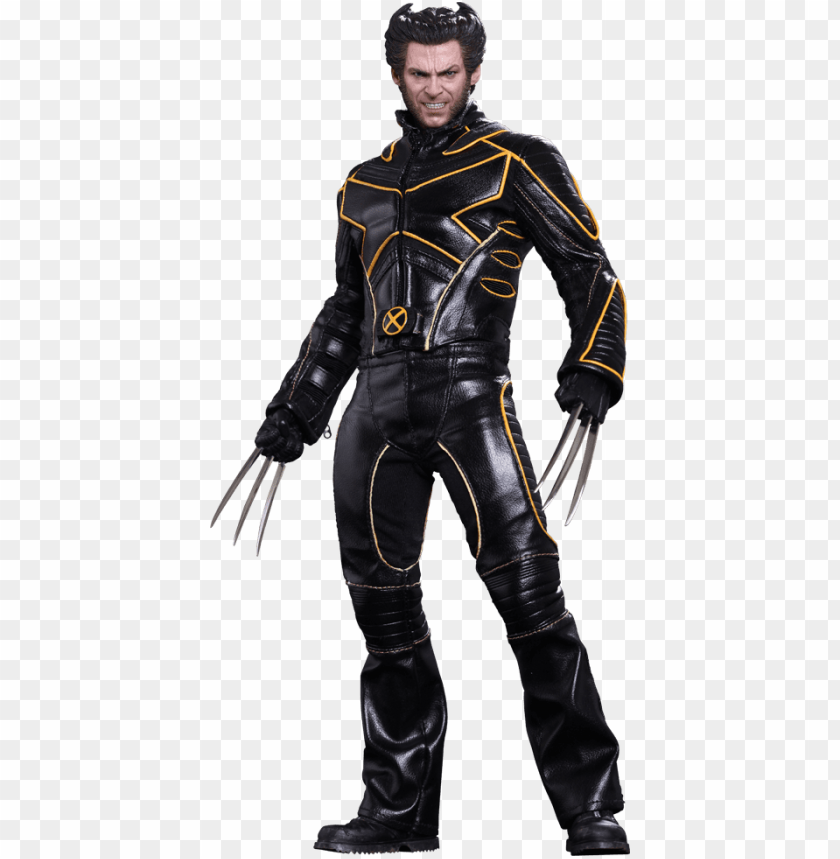 free PNG wolverine limited edition collectible figure - wolverine x-men the last stand action hot toys figure PNG image with transparent background PNG images transparent