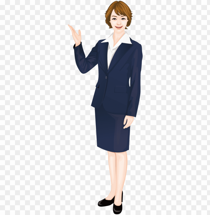 free PNG women business png clip art black and white library - women in suit cartoon PNG image with transparent background PNG images transparent