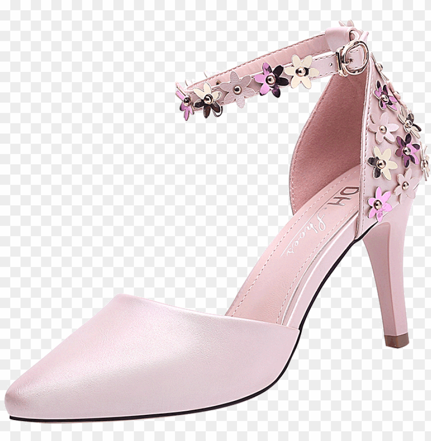 free PNG women high heel shoes casual ladies shoes breathable - bride shoe PNG image with transparent background PNG images transparent