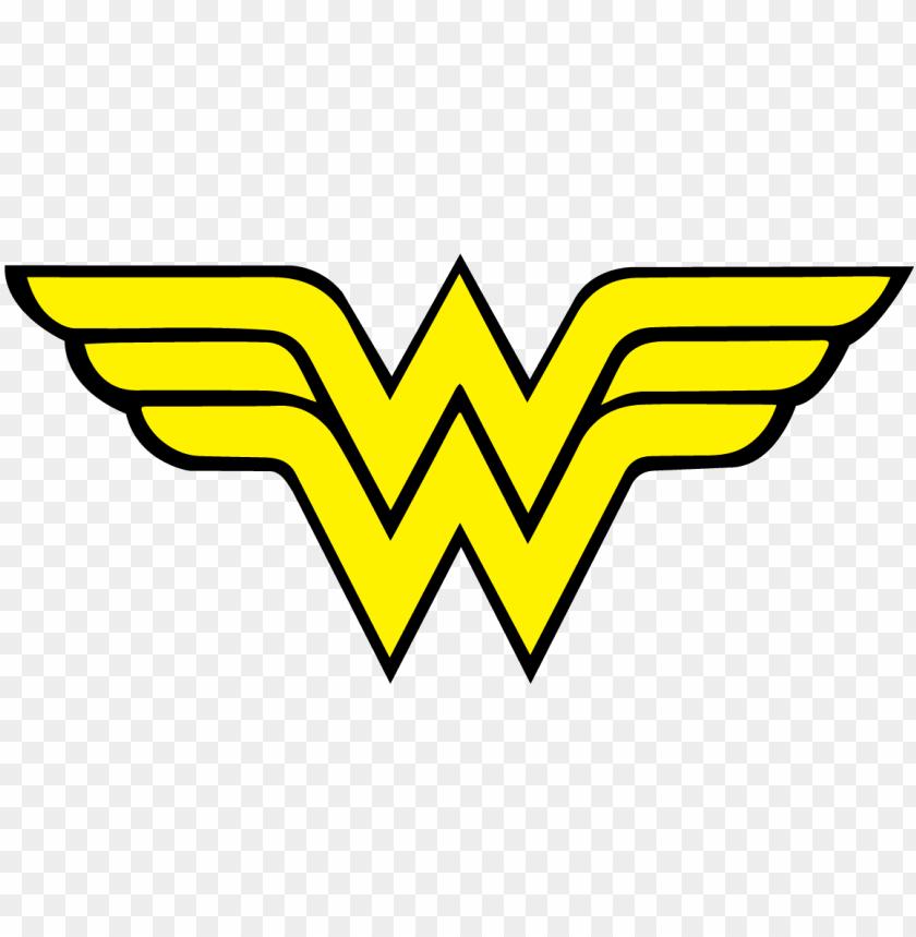free PNG wonder woman logo vector - wonder woman logo PNG image with transparent background PNG images transparent
