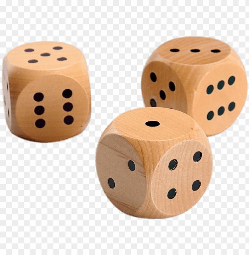 free PNG wooden dice png - wooden dice PNG image with transparent background PNG images transparent