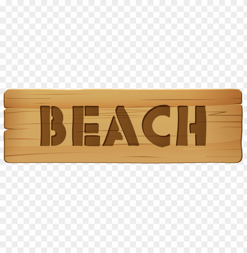 free PNG Download wooden sign beach clipart png photo   PNG images transparent