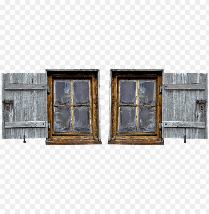 free PNG wooden windows, wood shop, old, shutter, old window - window PNG image with transparent background PNG images transparent