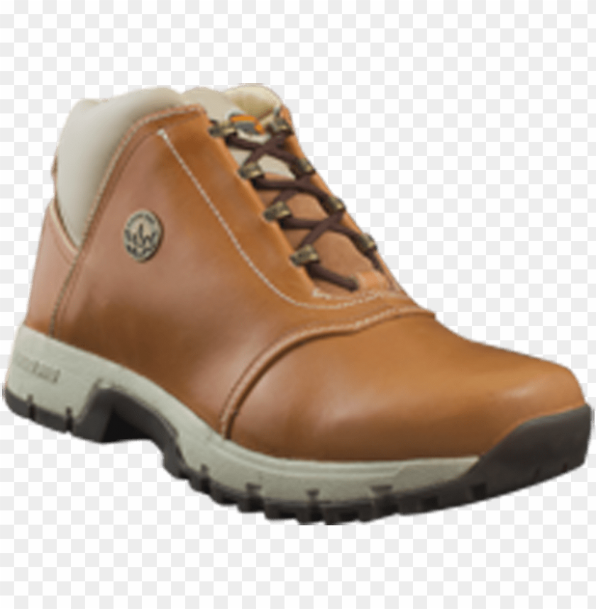 free PNG woodland men tan boot - hiking shoe PNG image with transparent background PNG images transparent