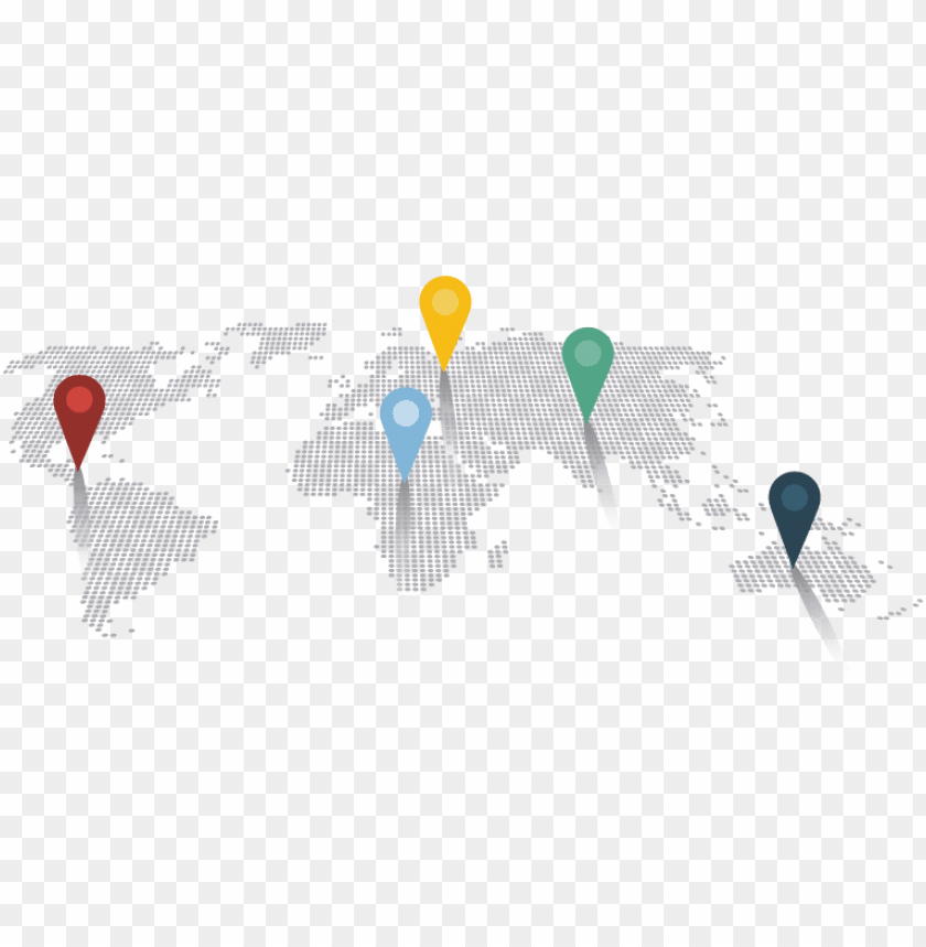 world map pin - world map png pi PNG image with transparent background@toppng.com