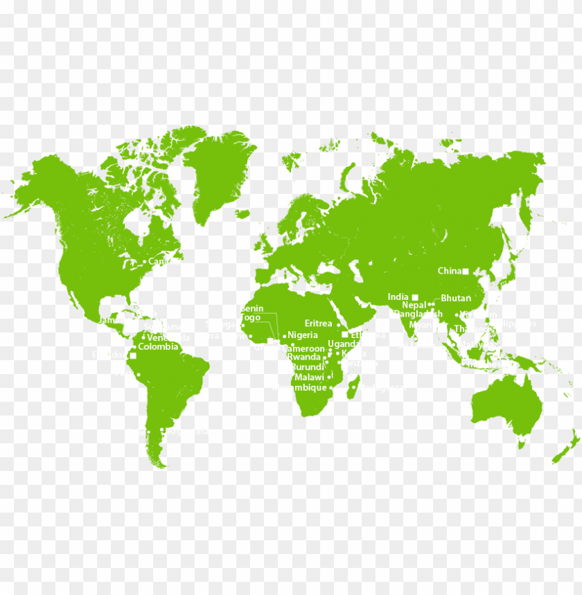 world map stencil PNG image with transparent background | TOPpng