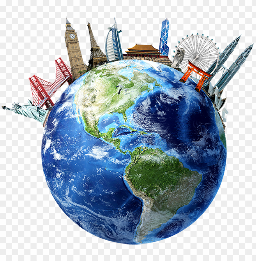 free PNG world without currency borders - 3d rendering of planet earth centered on north america PNG image with transparent background PNG images transparent