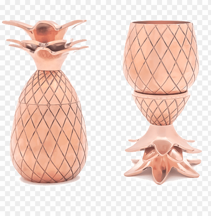 free PNG w&p design pineapple shot glass set | silver | PNG image with transparent background PNG images transparent