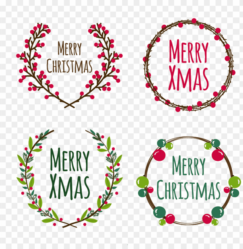 free PNG wreath euclidean transprent png - sketch christmas wreath vector PNG image with transparent background PNG images transparent