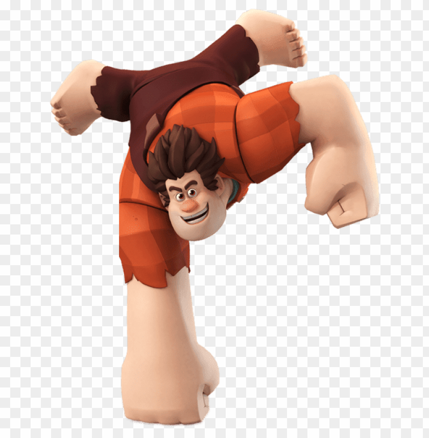 free PNG Download wreck it ralph standing on one fist clipart png photo   PNG images transparent