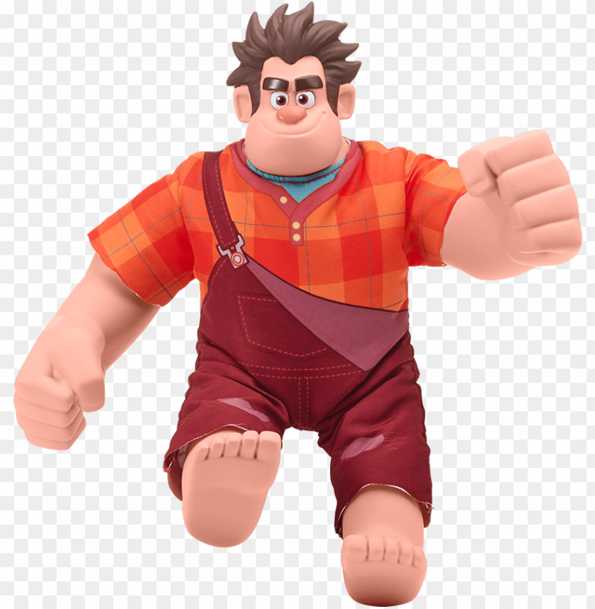free PNG wrecking ralph - muñeco rompe ralph PNG image with transparent background PNG images transparent
