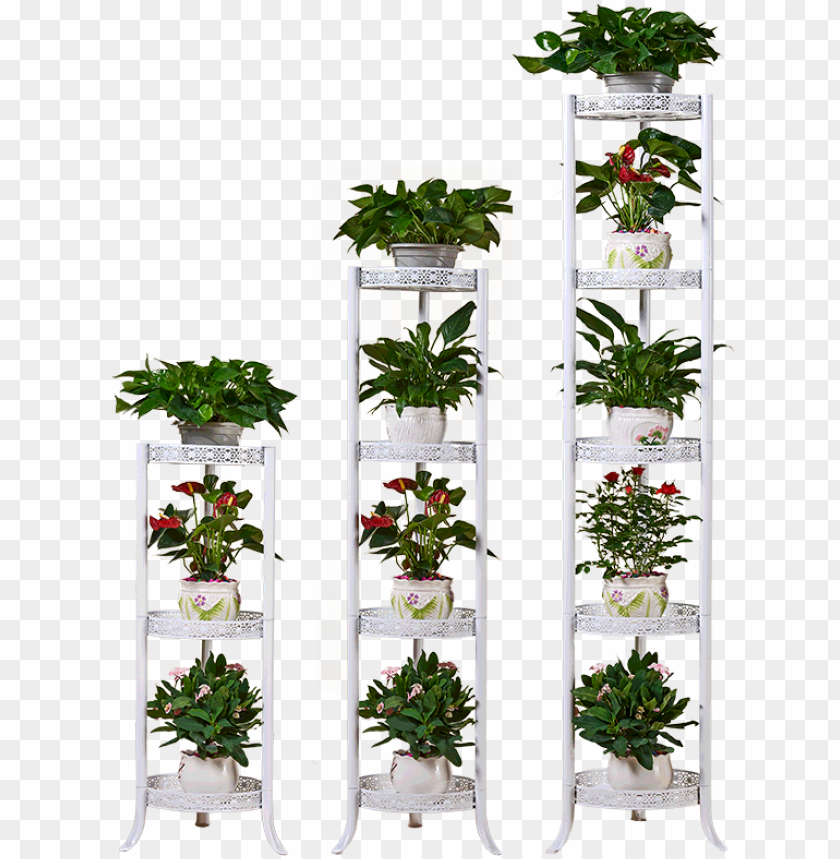 free PNG wrought iron flower stand floor flower pot holder european - plant shelves flower stand/plant floral metal stand PNG image with transparent background PNG images transparent