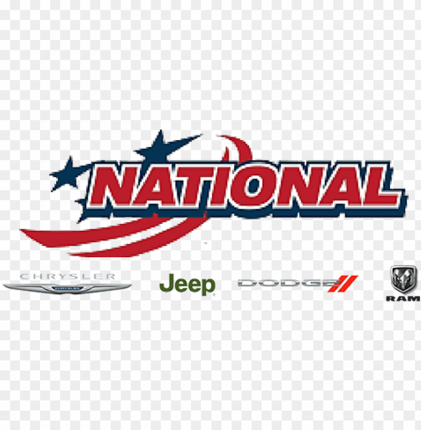 wsfl's rhyan@ national dodge chrysler jeep ram, jacksonville - national dodge chrysler jeep ram logo PNG image with transparent background@toppng.com