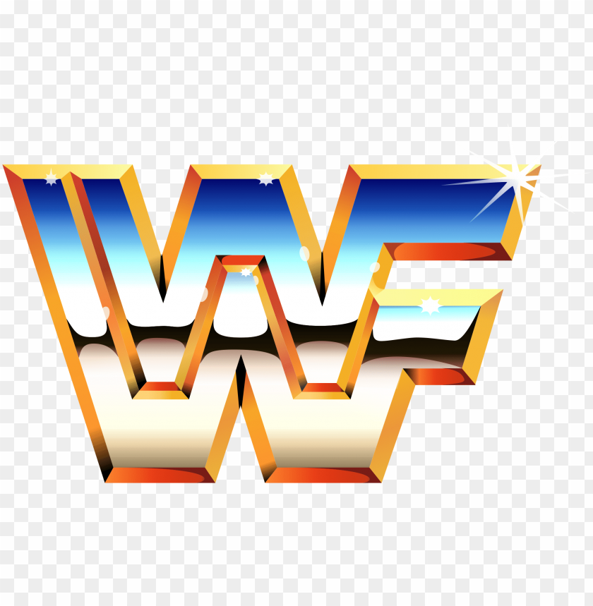 Wwe Wrestling Logo Old School Wwf Logo Png Image With Transparent Background Toppng