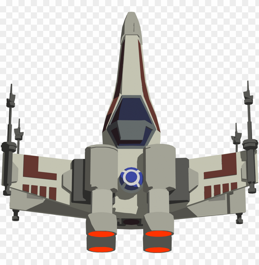 X Wing Game Fighter Star Wars X Wing Sprite Png Image With