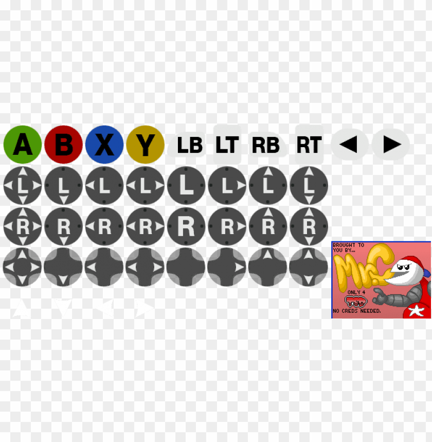 free PNG xbox 360 buttons - photoshop contact icon free PNG image with transparent background PNG images transparent
