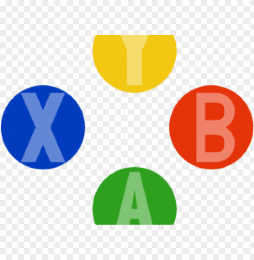 Xbox Clipart Controler Icons Buttons Xbox 360 Png Image With
