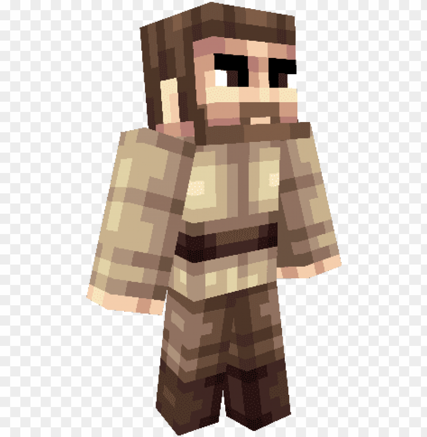 free PNG xrosjzpng - obi wan kenobi minecraft ski PNG image with transparent background PNG images transparent