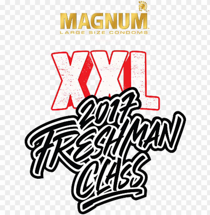 free PNG xxl's picks for the xxl 2017 freshman class are almost - xxl freshman 2017 logo PNG image with transparent background PNG images transparent