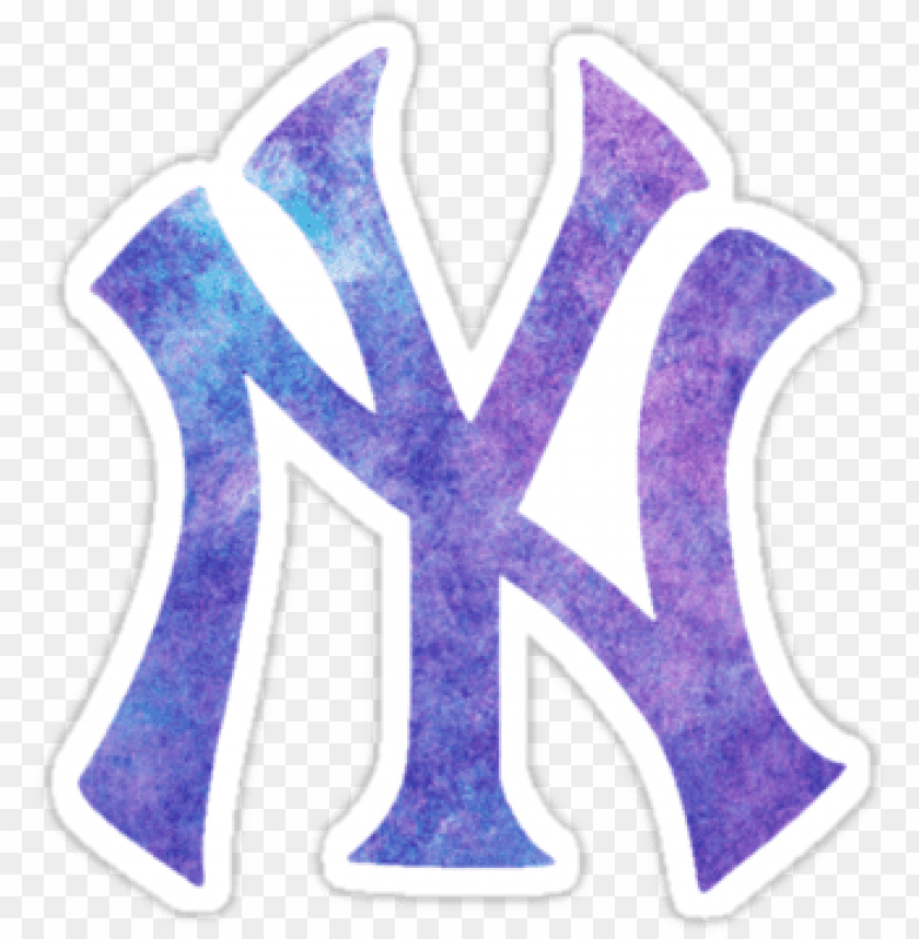 free PNG yankees logo png new york yankees watercolor logo - new york yankees 2018 logo PNG image with transparent background PNG images transparent