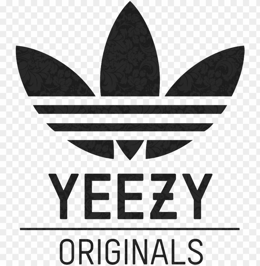 adidas yeezy logo