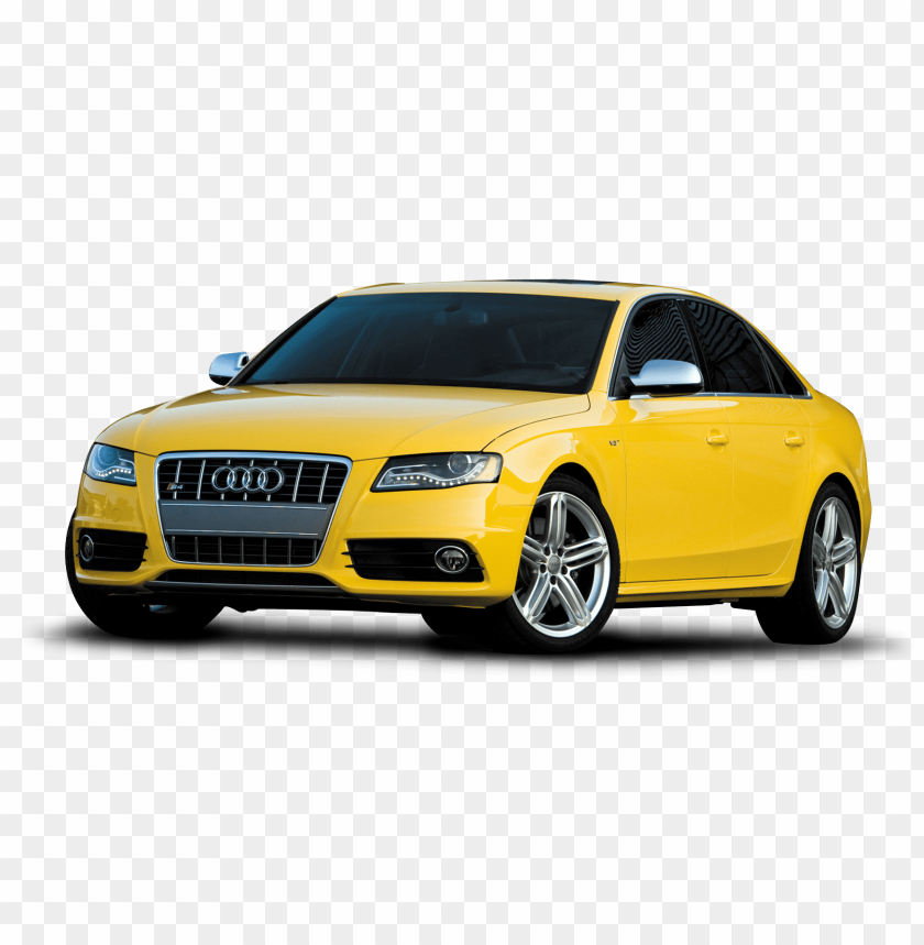 free PNG Download yellow audi car png im png images background PNG images transparent