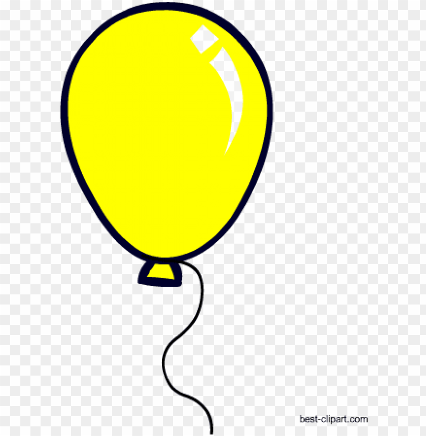 Yellow Balloon Free Clip Art Clipart Yellow Star Balloons Png Image With Transparent Background Toppng