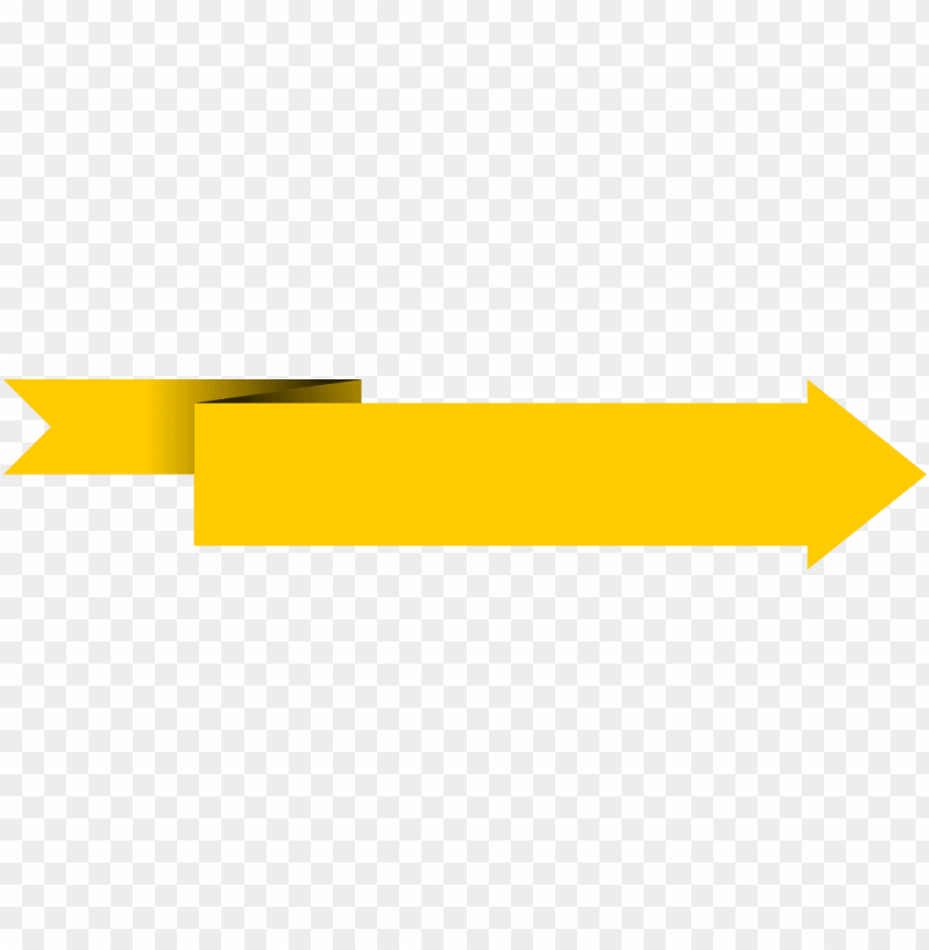 free PNG yellow banner transparent background png - yellow arrow banner PNG image with transparent background PNG images transparent