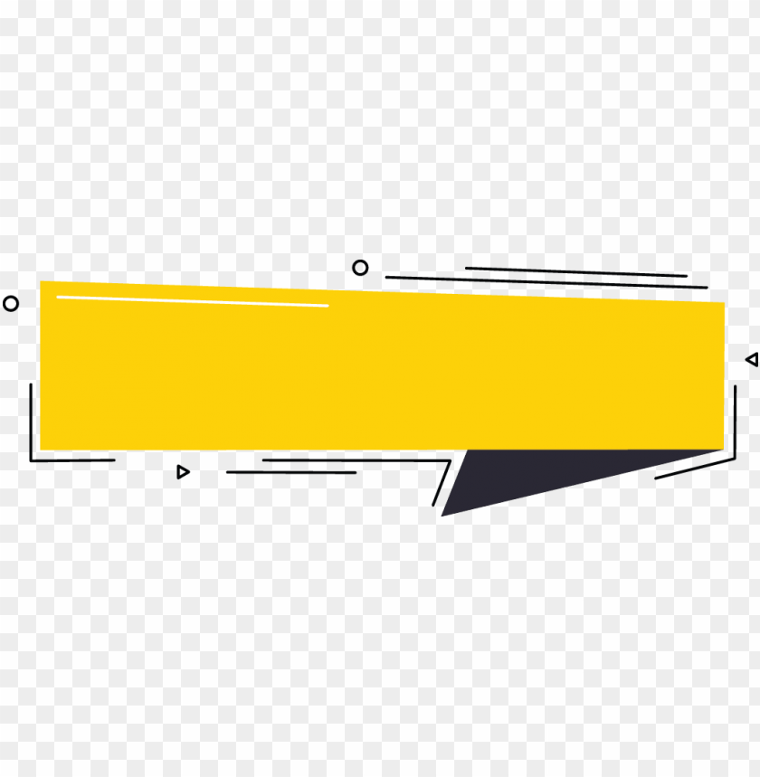 free PNG yellow banner with black down right abstract around - yellow and black banner PNG image with transparent background PNG images transparent