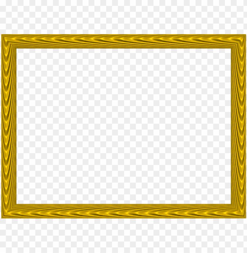 free PNG yellow elegant fabric fold embossed frame rectangular - gold color border desi PNG image with transparent background PNG images transparent