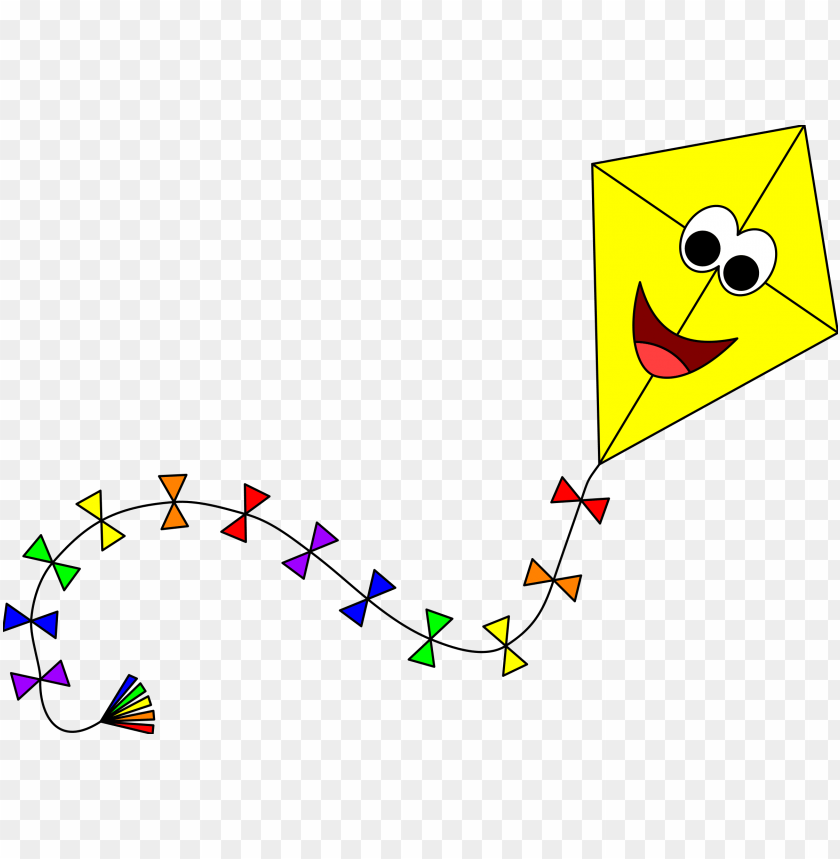 free PNG yellow kite with face 2 icons  - kite PNG image with transparent background PNG images transparent