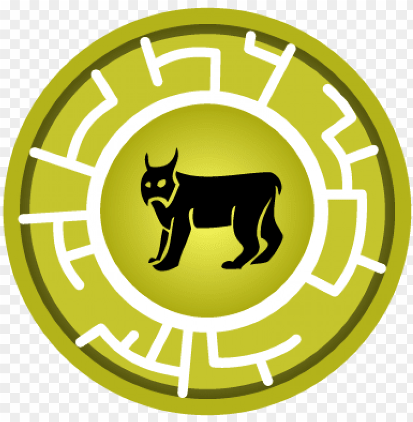 free PNG yellow lynx creature power disc - wild kratts lion power disc PNG image with transparent background PNG images transparent