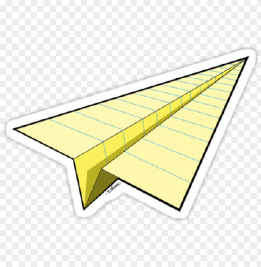 free PNG yellow paper airplane PNG image with transparent background PNG images transparent