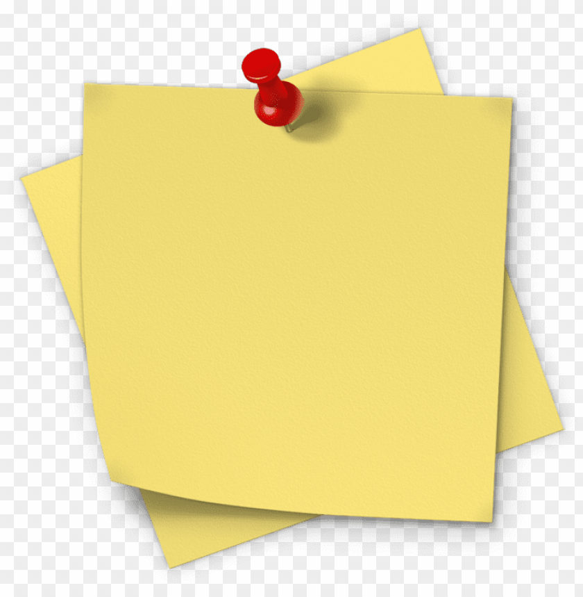 free PNG yellow sticky notes png image - transparent background sticky note png file PNG image with transparent background PNG images transparent