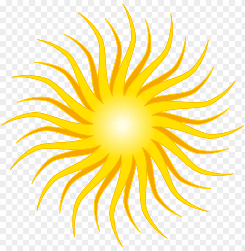 free PNG yellow, sun, round, orange, rays, shine - sun clip art PNG image with transparent background PNG images transparent