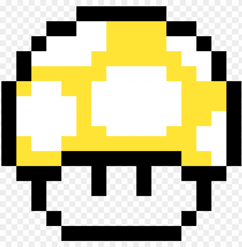 Yellow Supermario Mushroom Super Mario World 1 Up Mushroom Png